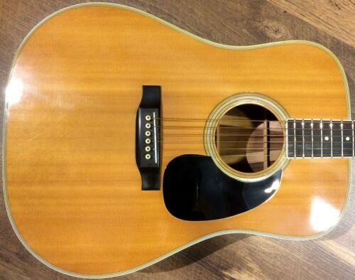 1971 Martin D-35 Natural Gloss Rosewood Back & Sides Dreadnought Acoustic Guitar