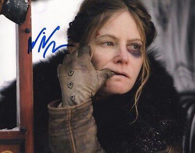 Jennifer Jason Leigh The Hateful Eight Hand Signed 8X10 Photo Proof Coa Jjl