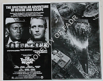 """""""THE TOWERING INFERNO"""" (1974, directed by John Guillermin)"""