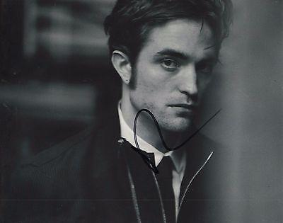 Robert Pattinson Twilight B W Hand Signed 8X10 Photo W Coa Autographed