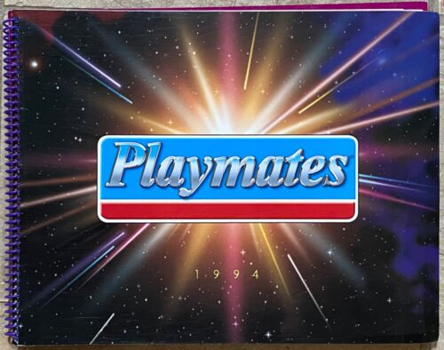 Playmates 1994 Toy Catalog TMNT EXO Squad Star Trek Pound Puppies Skeleton
