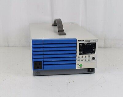 Kikusui Ac Power Supply Pcr 500m Aci-270v 5a 500va Power Supply Sold As Is