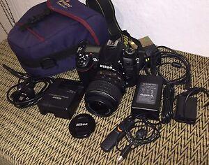 Nikon D7000 digital SLR camera bundle - 18-55mm VR Taroona Kingborough Area Preview