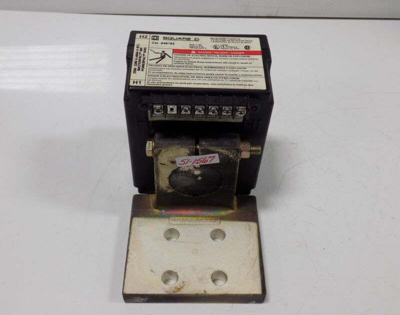 SQUARE D MASTERPACT/POWERPACT CURRENT TRANSFORMER  S48182