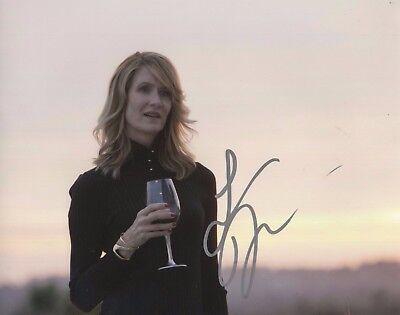Laura Dern Big Little Lies Hand Signed 8X10 Autographed Photo W Coa