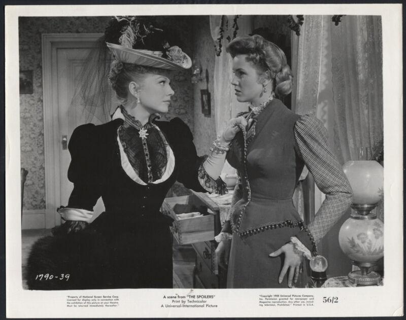 The Spoilers '56 ANNE BAXTER BUSTY BARBARA BRITTON WESTERN
