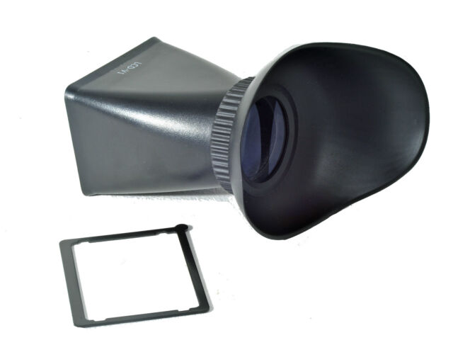V3 Magnifier Hood LCD 2.8x Viewfinder Extender Magnetic for Canon 600D 60D