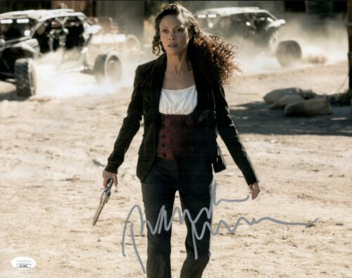 THANDIE NEWTON Signed 11x14 Photo WESTWORLD In Person Autograph JSA COA Cert