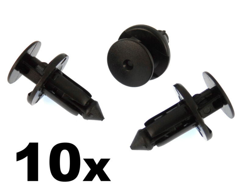 10x Lexus & Toyota Plastic Rivets for Bumpers, Wheel Arches & Sill Moulding Clip