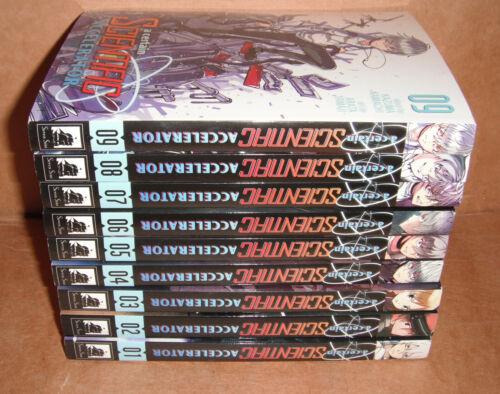 A Certain Scientific Accelerator Vol. 1,2,3,4,5,6,7,8,9 Manga Set English