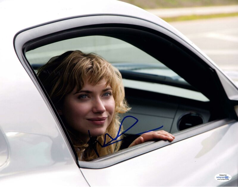Need For Speed Imogen Poots Autographed Signed 11x14 Photo Racing Movie ACOA