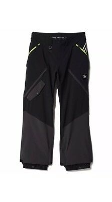 Brand New Adidas Major Stretchin It Snowboard Ski Pants Black Size S Small