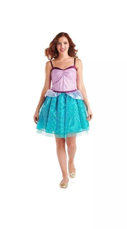 Disney Store Disney Juniors Ariel Tutu Costume Dress The Little Mermaid Size L