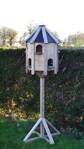 NEW DOVECOTE BIRD HOUSE GARDEN DECOR ACCESSORIES BIRD FEEDER HOUSE
