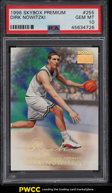Dallas Mavericks 1998-99 Ultra #118 Dirk Nowitzki RC