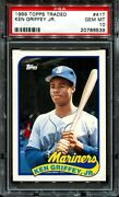 1989 Topps Traded #41T Ken Griffey Jr