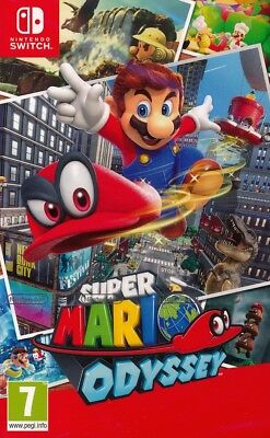 Super Mario Odyssey Nintendo Switch Game   New   Sealed