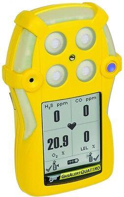 Bw Technologies Gasalert Quattro 4-gas Monitor Qt-xwhm-a-y-na Free Us Shipping