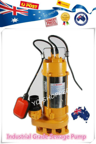 Heavy Duty Submersible Sewage Water Drainage Sump Pump - Industrial Grade