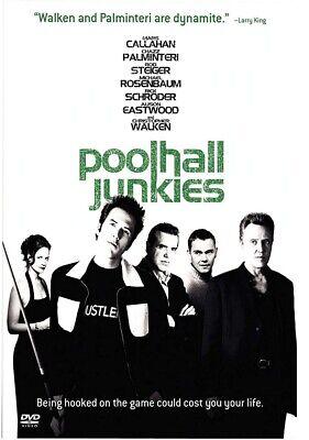 (#5-HO) POOLHALL JUNKIES Steiger Walken Brand New DVD FREE SHIPPING