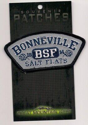 Bonneville Salt Flats  Souvenir Utah Patch    - Bonneville Salt Flats