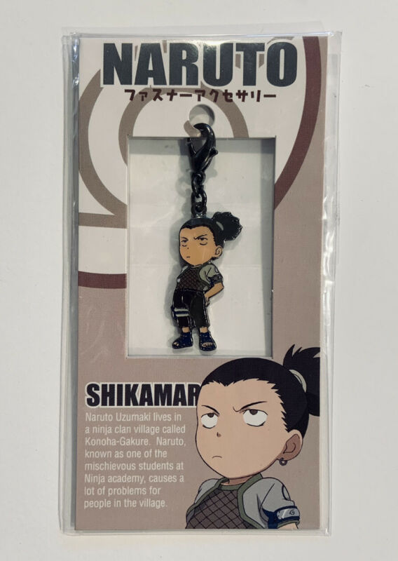 Naruto Shikamaru Charm Metal Clip Accessory Fastener