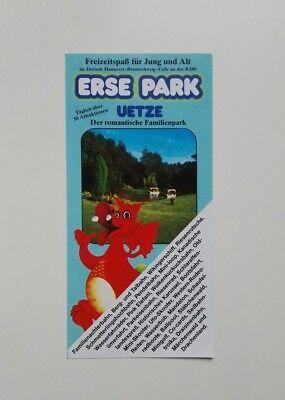 Freizeitpark - Erse Park - Faltprospekt - 1995
