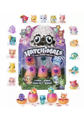 Hatchimals CollEGGtibles 4-Pack Season 4  Hatching Eggs Figurine Limited Edition