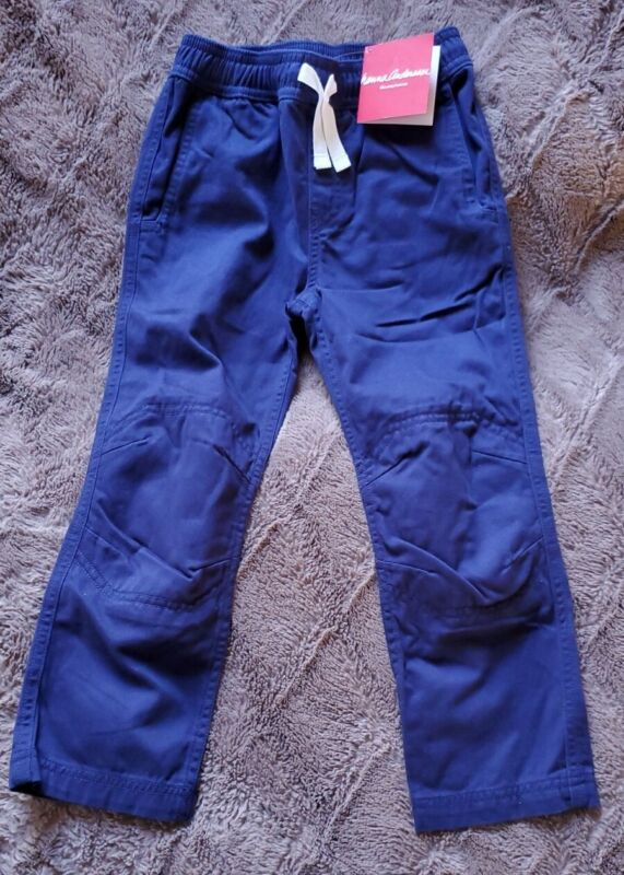 Hanna Andersson Double Knee Canvas Pants 110 cm US5 (NWT) (TWO PAIR FOR $24.50)