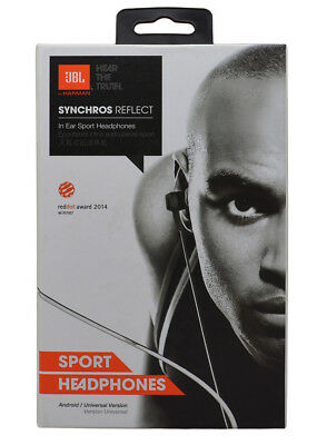 NEW JBL Synchros Reflect In-Ear Sport Wireless Headphones W/ Mic Bluetooth for sale  Shipping to South Africa