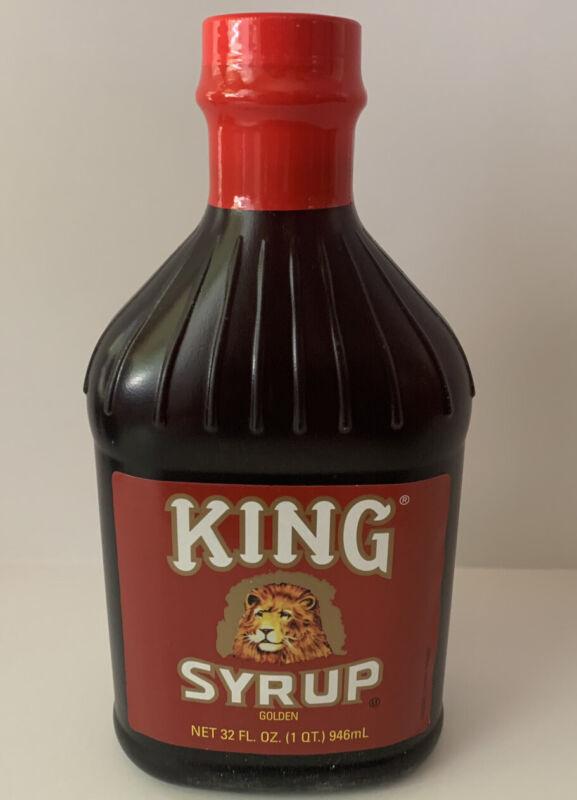 King Syrup Golden 32 Oz Bottle NEW Sept 2022 Expiration Date