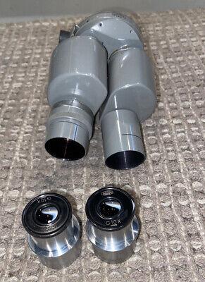 Olympus Tokyo Lab Microscope Head G10x Lenses