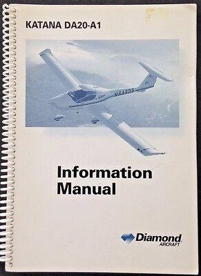 Diamond Aircraft Da20 A1 Katana Information Manual