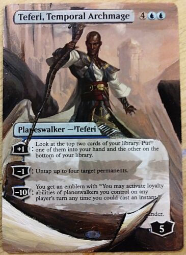 Teferi, Temportal Archmage - Full Art / Altered