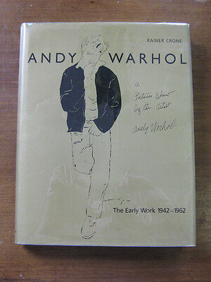 THE EARLY WORK 1942-1962 of Andy Warhol  - 1987 - 1st/1st  HCDJ - Rainer Crone