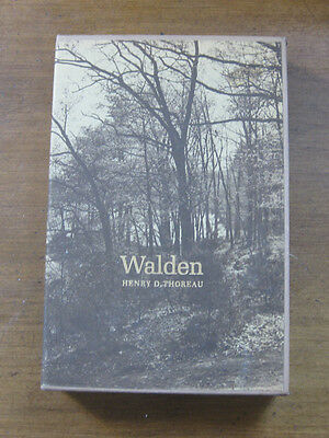 The Illustrated Walden By Thoreau   Princeton University 1St Printing 1973 Nf