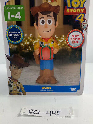 Gemmy Industries Yard Inflatables Disney's Toy Story 4: Woody, 5 Ft