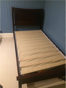 King Single Bed Frame and Mattress Red Hill Brisbane North West Preview