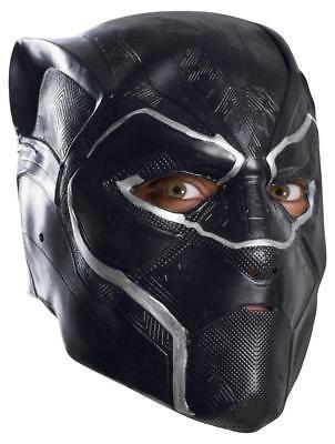 Marvel Black Panther Premium 3/4 Maske - Kostüm Verkleidung Fasching Halloween