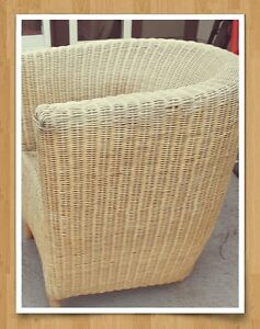 Awesome Wicker chair $30 or trade ☺