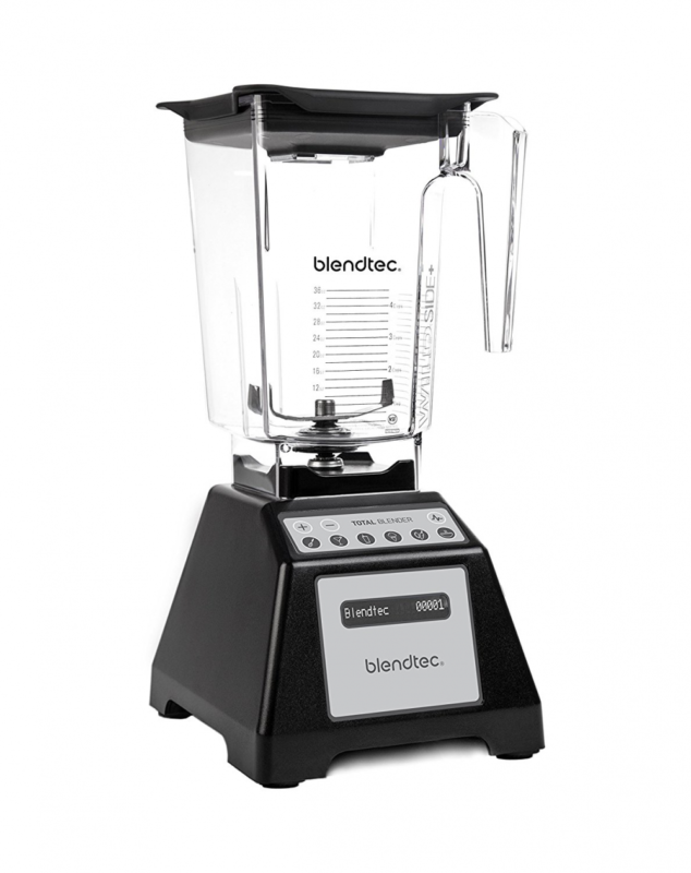 Blendtec Total Blender with WildSide+ Jar - Black, Certified