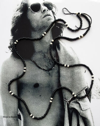 Jimbo Glass Leopard Jim Morrison the Doors 1967 Love Bead Necklace