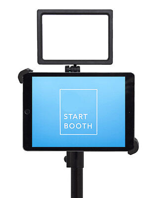 G10 Pro DIY iPad Photo Booth Portable Tripod Stand with 160 LED Light - Photo Booth Kit