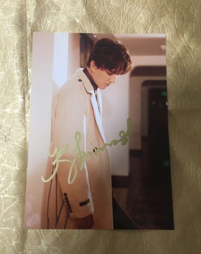 Dimash Kudaibergen autographed signed photo 5*7 Kazakh singer Tracking available