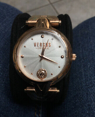GORGEOUS VERSUS VERSACE CARPE DIEM ROSE GOLD WATCH BNIB