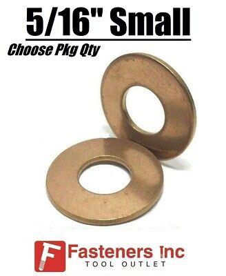 516 Small Marine Flat Washers Silicon Bronze Standard Round Washers .750 Od