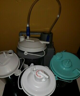 Devilbiss Homecare Suction Unit. See Details For Added Etc...tubing Cannister