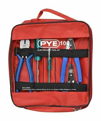 2x Pye Electricians Tool Kit Pye-106 5 Tools Best For The Electricians Job