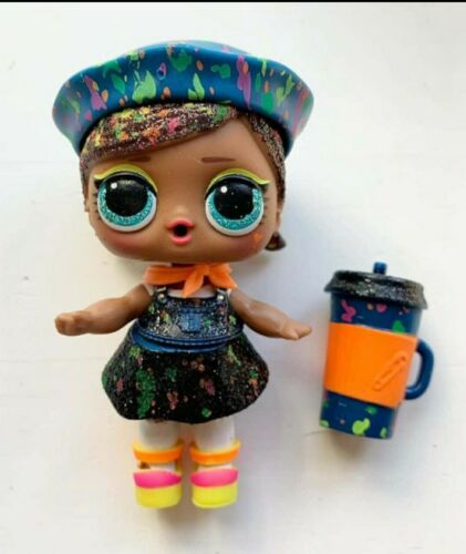 LOL Surprise Lights Glitter Ultra Rare Drip Drop Paint Blacklight Doll New L-006 - $8.50