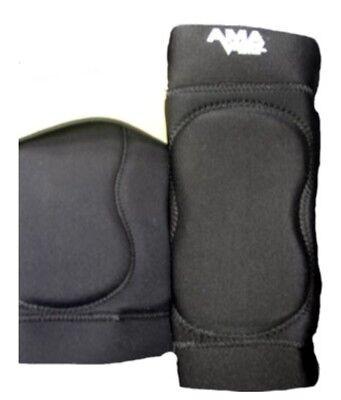 AMA Black Pro Knee Pads XXL wrestling football MMA judo sports Jui Jitsu